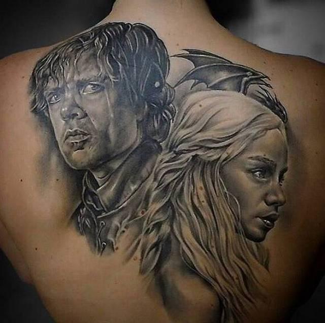 игра престолов татуировки