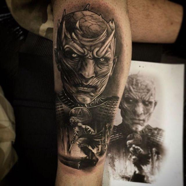 татуировка мертвые ходоки фото