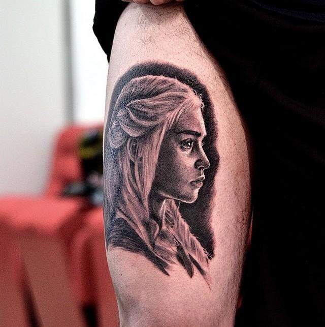 фото татуировки Дайнерис Таргариан - Кхалиси