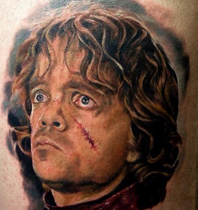 Тирион фото татуировки