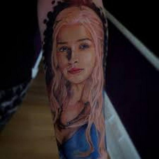 татуировка матерь драконов фото