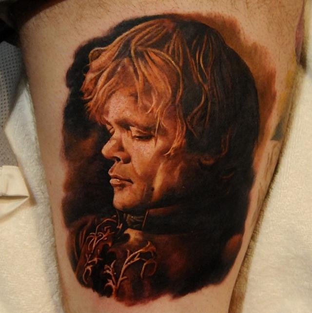 фото татуировки Тирион ланистер