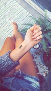 татуировка для женщин 2018