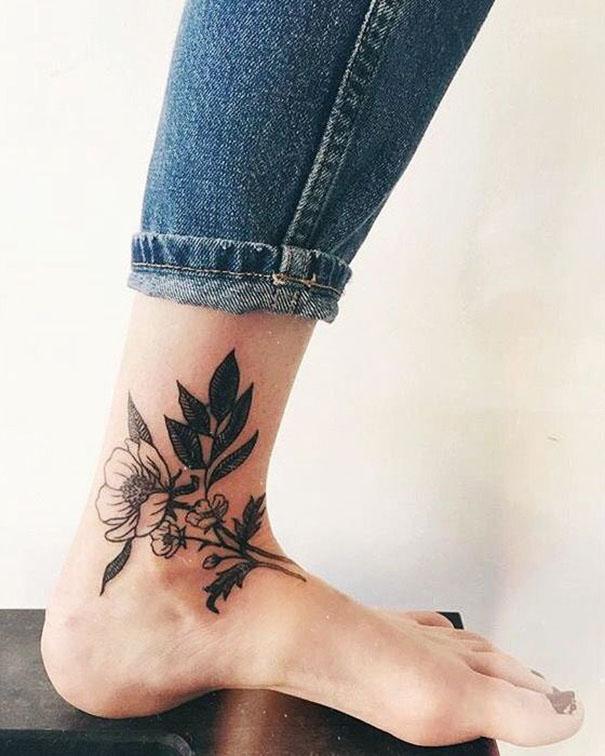 женское тату от 2018