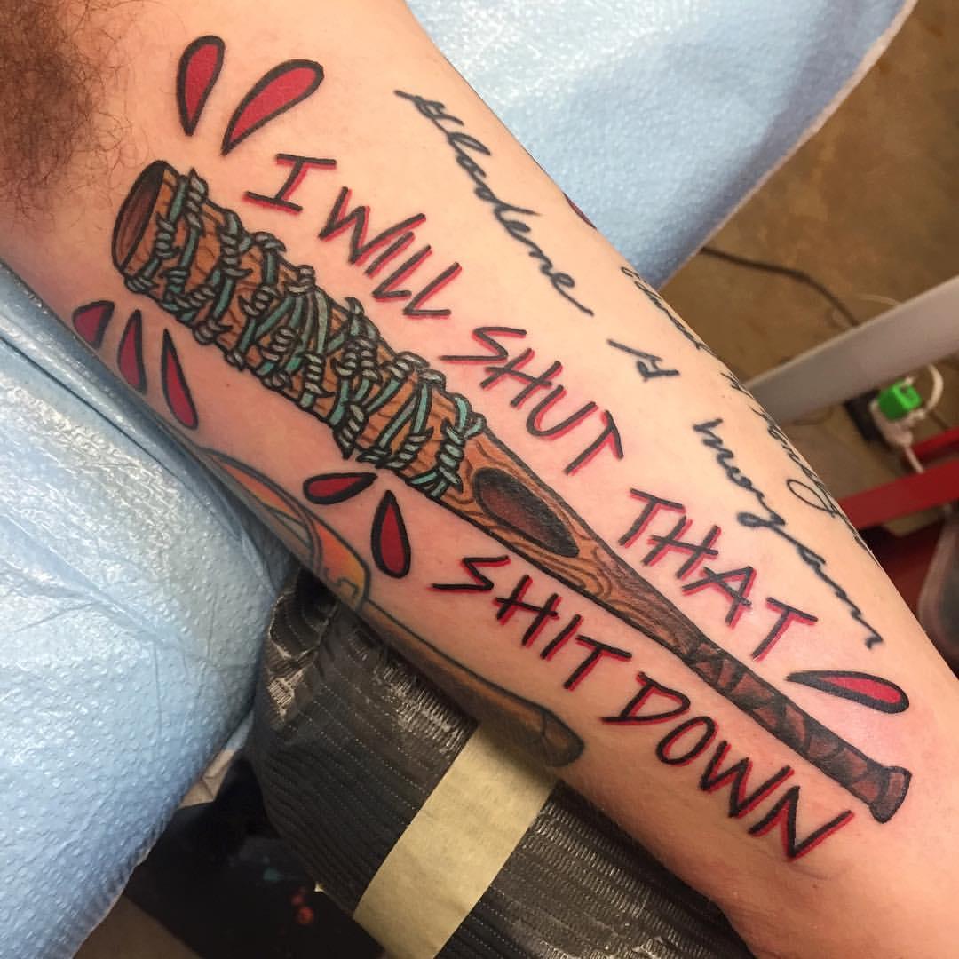 фото татуировка Люсиль