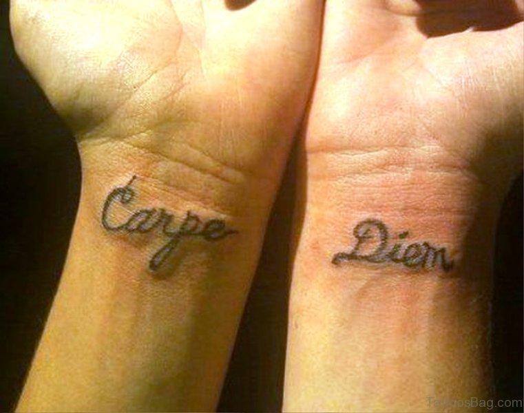 татуировка carpe diem что означает