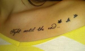татуировка до самого конца фото