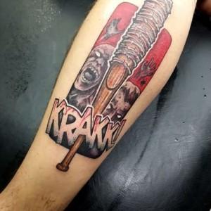 фото татуировки люсиль из ходячих мертвецов