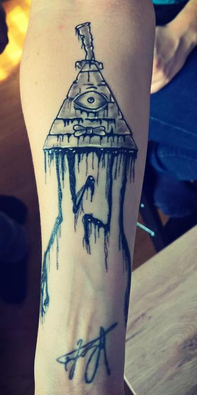 гравити фоллс татуировки фото