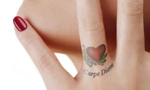 тату carpe diem значение что означает