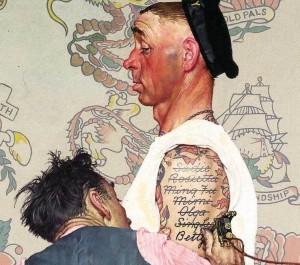 татуировка с именем стоит ли делать тату с именем